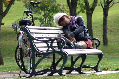 Profondément endormie à Sapporo, Hokkaido