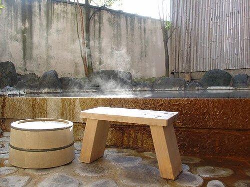 Bain thermal privé, parfait si vous êtes un peu timide ou que vous préfériez partager cette expérience avec votre partenaire.
