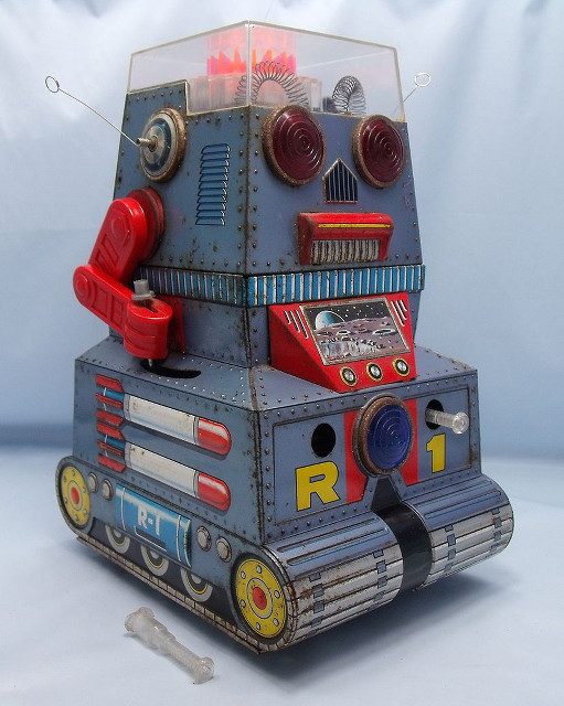 Old Japanese Toys : Tin toys from japan to the world